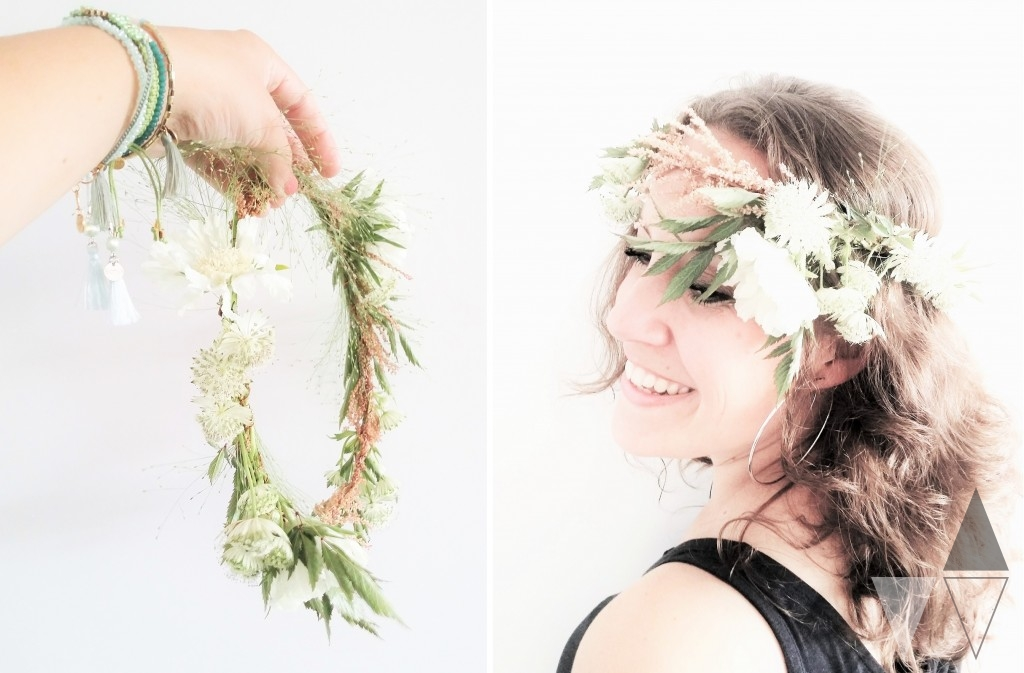 Bloemenkrans DIY Lisanne van de Klift