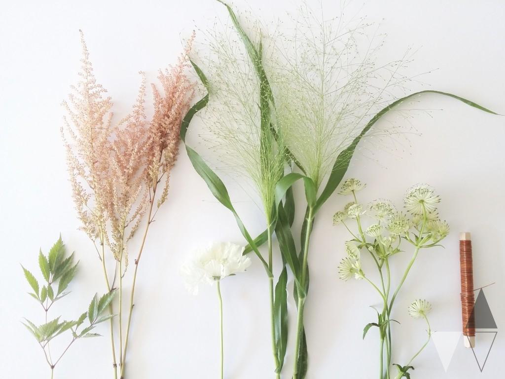 DIY bloemenkrans door Lisanne van de Klift