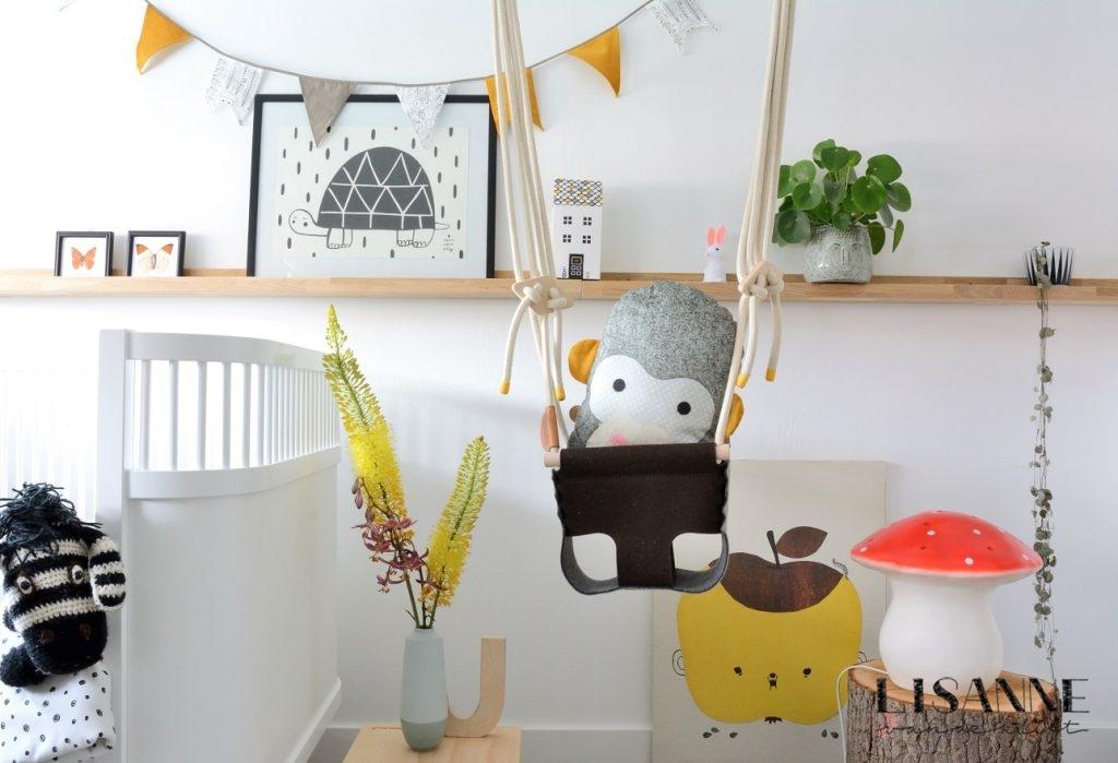 Schommel In Kinderkamer : Stoere kinderkamer accessoires anuka lisanne van de klift