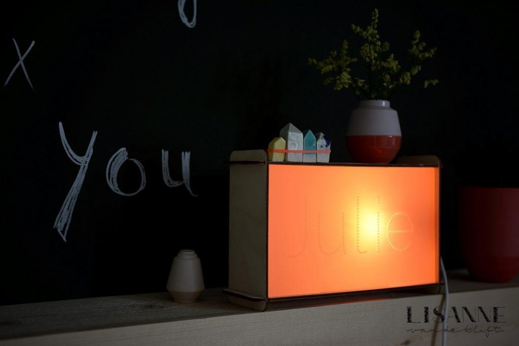 verlichting in huis naamlamp