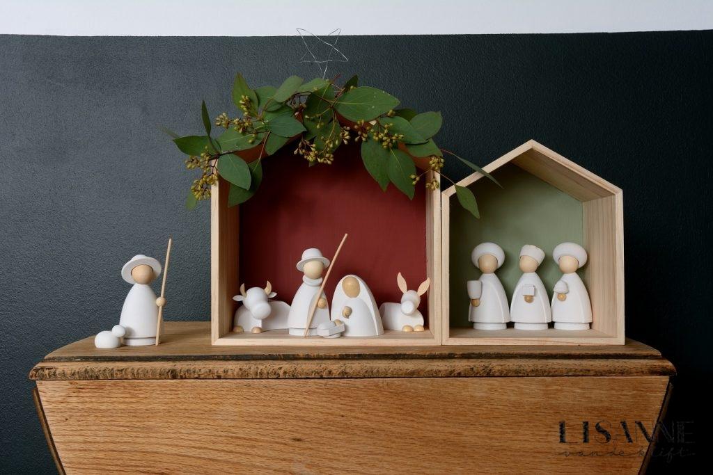 sterren kerst hout