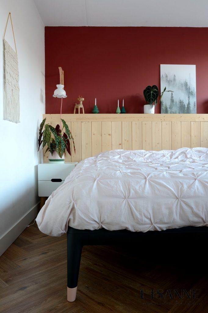 Nieuwe kleur op de slaapkamermuur - Lisanne van de Klift