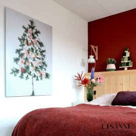 DIY | Een kerstboom op de muur