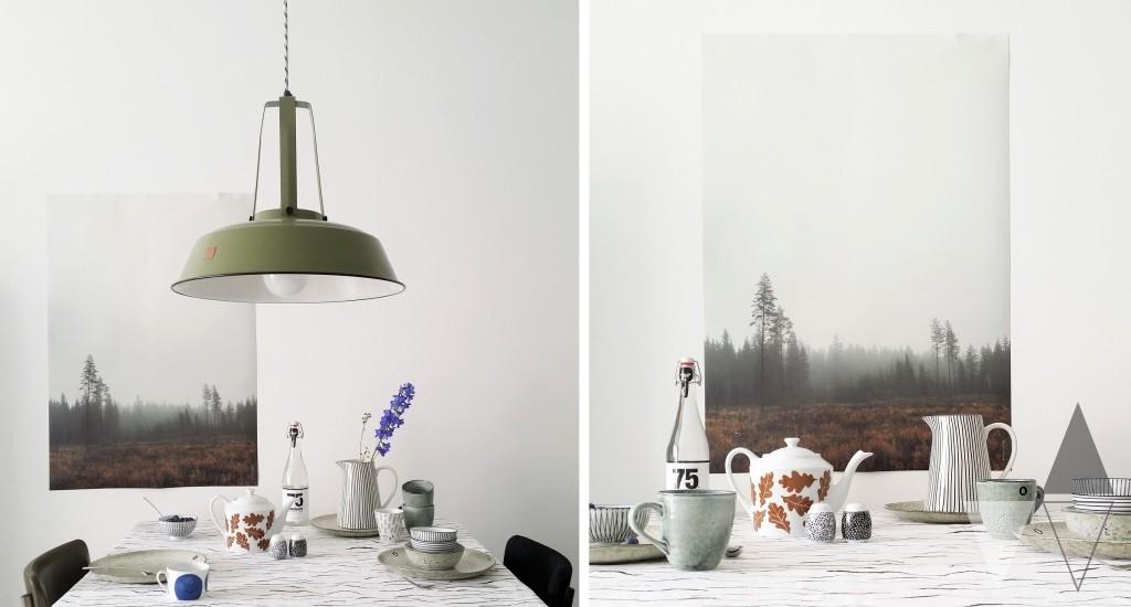 Lisanne van de Klift styling interieur eettafel en inspiratie servies