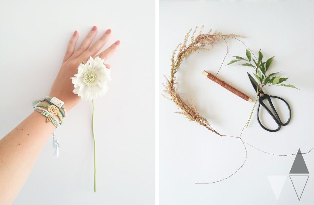 Bloemenkransje DIY Lisanne van de Klift