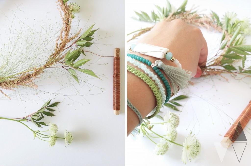 Bloemenkransje DIY door Lisanne van de Klift