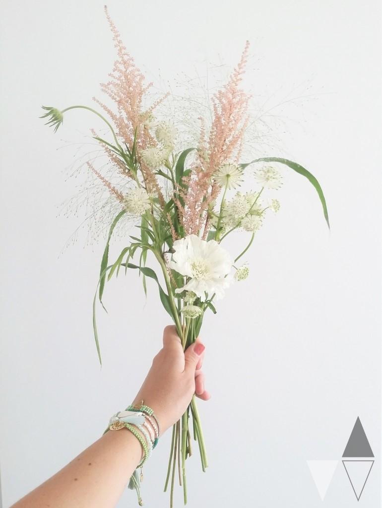DIY bloemenkrans Lisanne van de Klift