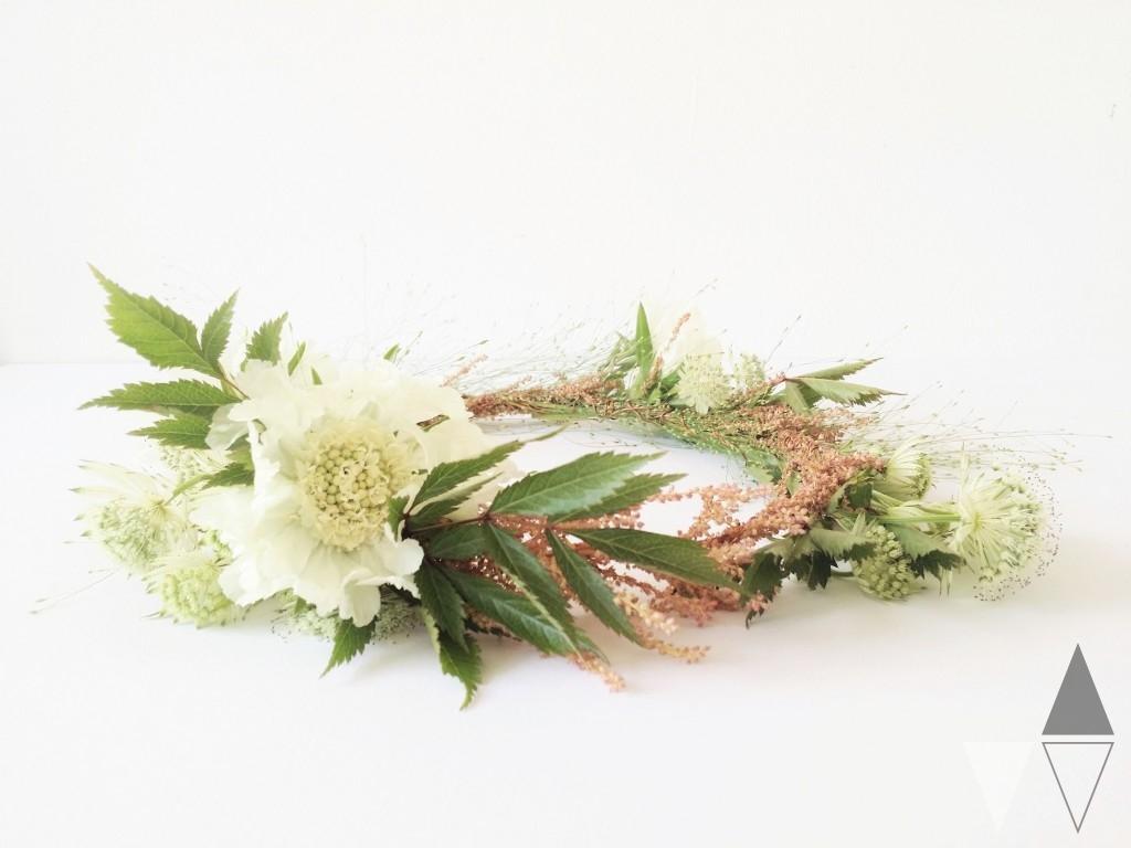 Lisanne van de Klift DIY bloemenkrans