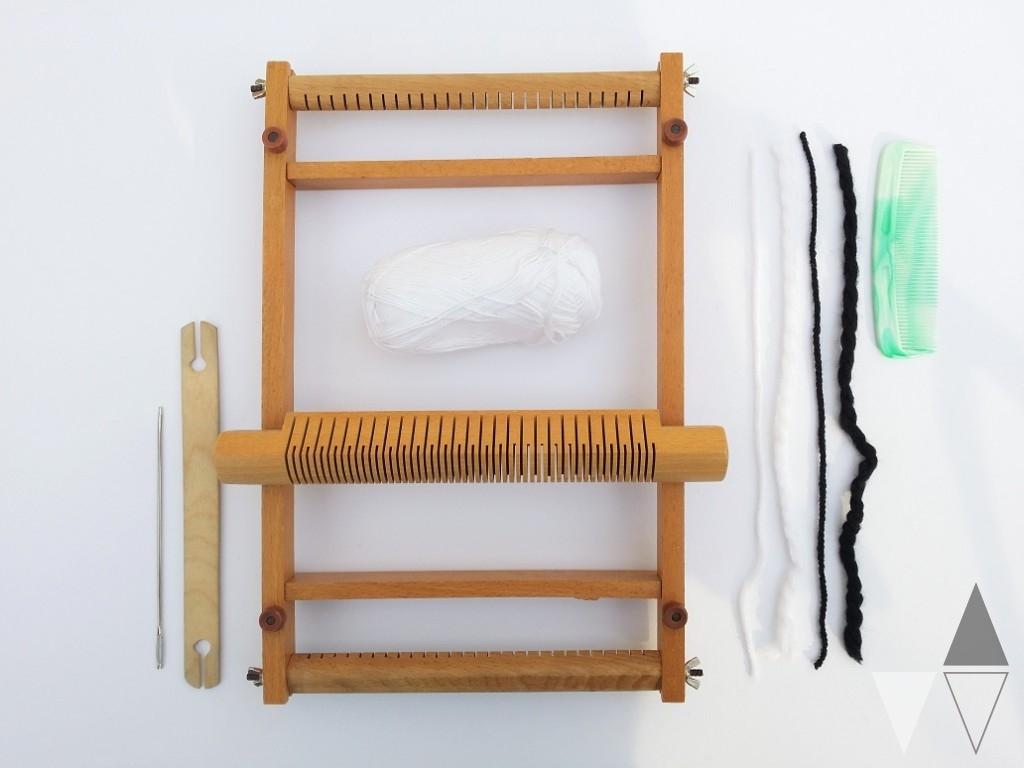 DIY Weven Weefraam Lisanne van de Klift