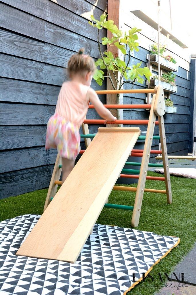 Wiwiurka houten klimrek Lisanne van de Klift