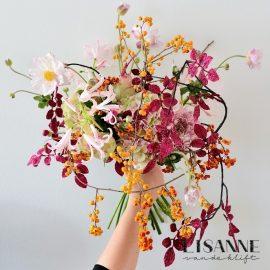 Bloemen Bijdehand | Roze glitter