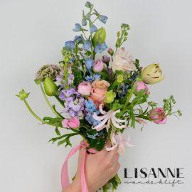 Bloemen Bijdehand   Pastel boeket