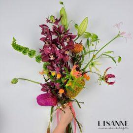 Bloemen Bijdehand | Boeket met Orchidee
